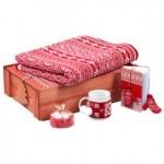 Новогодний набор «Уютный зимний вечер», красный