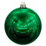 Елочный шар Shiny 10, ver.1, зеленый