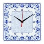 Часы настенные стеклянные Times Square