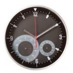 Часы настенные INSERT с термометром и гигрометром