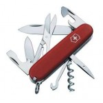 Карманный нож ECOLINE 91, матовый красный