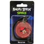 Светоотражатель Angry Birds Space, красный круг, в блистере