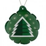 Новогодний самонадувающийся шарик «Елочка», зеленый