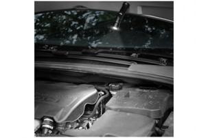 """Зарядное устройство """"PB-1400"""" автомобильное с фонариком, черный"""