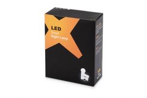 Сенсорная ночная лампа, работающая от сети мощностью 220 В. В темноте сама включается, а в освещенном помещении не горит