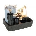 Интерьерная композиция «Нефтяной фонтан»