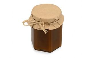 Подарочныйнабор«Fiore» с мёдом и чаем,коричневый