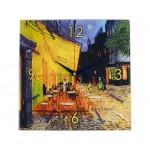 Часы настенные «Ван Гог. Терраса кафе ночью»