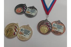 Заливка смолой медали