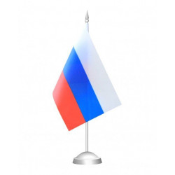 Флагшток с флагом однорожковый