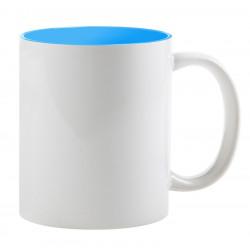 Кружка сублимационная голубая внутри