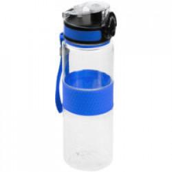 Бутылка для воды Fata Morgana, прозрачная с синим