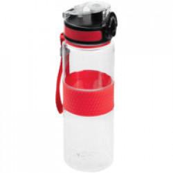 Бутылка для воды Fata Morgana, прозрачная с красным