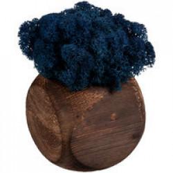 Декоративная композиция GreenBox Dice, синий