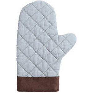 Прихватка-рукавица Keep Palms, серо-голубая