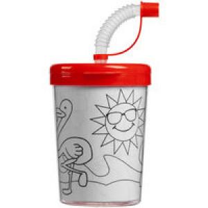 Детский стакан-раскраска «Передвижник», красный