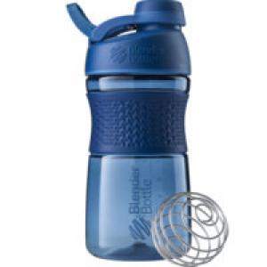 Спортивный шейкер SportMixer Twist Cap, синий
