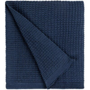 Плед Lattice, синий