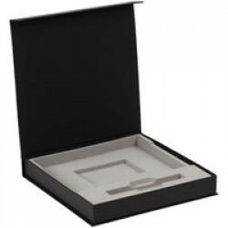 Коробка Memoria под ежедневник и ручку, черная