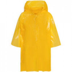 Дождевик-плащ детский BrightWay Kids, желтый