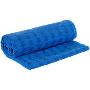 Полотенце-коврик для йоги Zen, синее