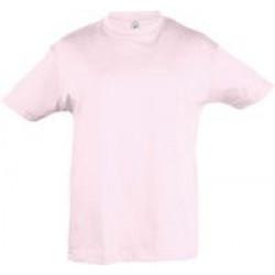 Футболка детская REGENT KIDS 150 светло-розовая, на рост 96-104 см (4 года)