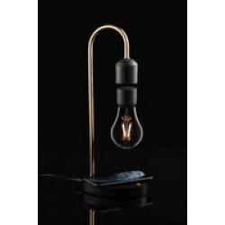 Левитирующая лампа с функцией беспроводной зарядки leviStation
