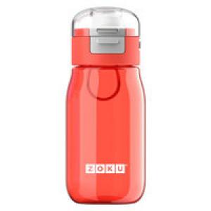 Детская бутылка для воды Zoku, красная