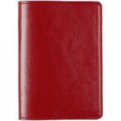 Обложка для паспорта Nebraska, красная