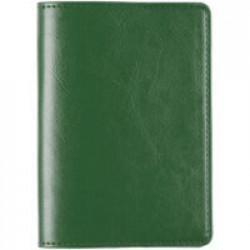 Обложка для паспорта Nebraska, зеленая