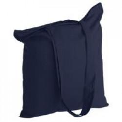 Холщовая сумка Basic 105, темно-синяя