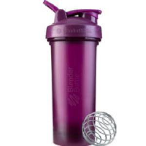 Спортивный шейкер Classic V2 Full Color, большой, фиолетовый (сливовый)