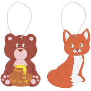 Набор для творчества «Чудесные животные. Европа: медведь и лиса»