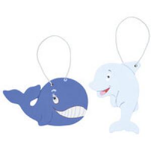 Набор для творчества «Чудесные животные. Моря и океаны: кит и дельфин»