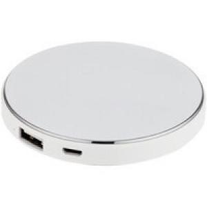 Аккумулятор с подсветкой логотипа Uniscend Disc, 3000 мАч