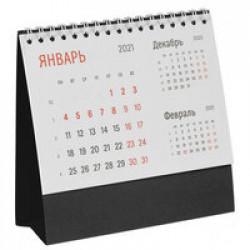 Календарь настольный Nettuno, черный