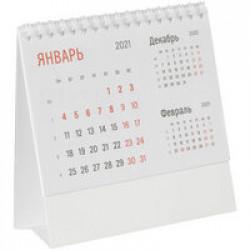 Календарь настольный Nettuno, белый