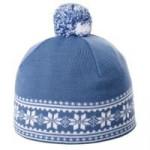 Шапка «Скандик», синяя (индиго)