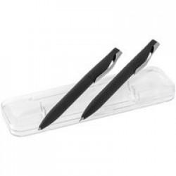 Набор Pin Soft Touch: ручка и карандаш, черный