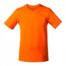 Футболка детская T-Bolka Kids, оранжевая, 6 лет