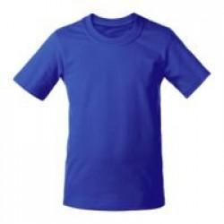 Футболка детская T-Bolka Kids, ярко-синяя, 6 лет
