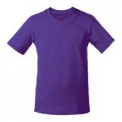 Футболка детская T-Bolka Kids, фиолетовая, 6 лет