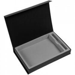 Коробка Silk под ежедневник и ручку, черная