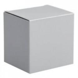 Коробка для кружки, серебристая