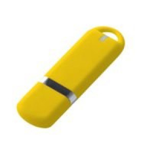Флешка Memo, 8 Гб, желтая