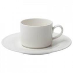 Кофейная пара Maxim Diamond, молочно-белая