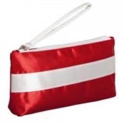 Пенал-косметичка Unit Weekender, красный с белым