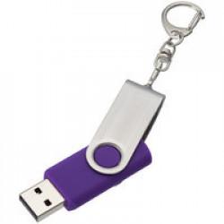 Флешка Twist, фиолетовая, 8 Гб