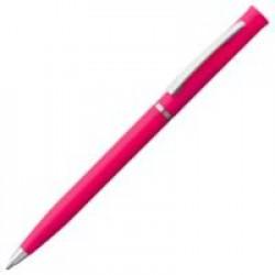 Ручка шариковая Euro Chrome, розовая