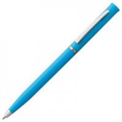 Ручка шариковая Euro Chrome, голубая